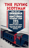 The Flying Scotsman', LNER poster, 1923-1947.