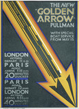 'The New Golden Arrow Pullman', SR poster, 1931.