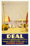 Deal, SR poster, c 1930s. Produced for the