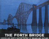 'The Forth Bridge', LNER poster, 1928.