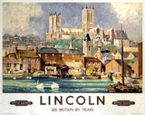 'Lincoln', BR poster, 1948-1965.
