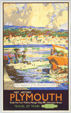 'Visit Historic Plymouth - the departure of