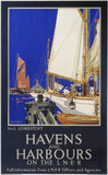 'Havens and Harbours', LNER poster, 1923-1947.