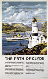 'The Firth of Clyde', BR poster, c 1960.