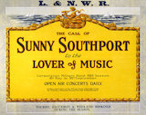 'The Call of Sunny Southport', LNWR poster, 1922.