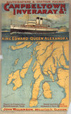 'Campbeltown Inveraray & c.', SECR poster, 1914.