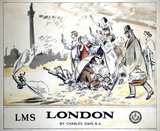 'London', LMS poster, 1924.