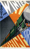 'South for Winter Sunshine', SR poster, 1929.