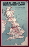 Main and branch lines & through services, L
