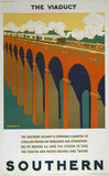'The Viaduct', SR poster, 1925.