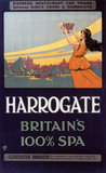 'Harrogate - Britain's 100% Spa', GNR poster, 1900-1922.