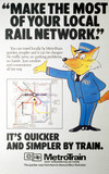 'Make the Most of your Local Rail Network, BR/MT poster, c 1980s.