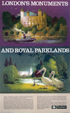 'London's Monuments and Royal Parklands', BR poster.