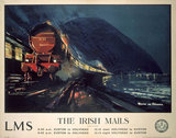 'The Irish Mails', LMS poster, 1923-1947.