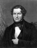 Robert Bunsen, German chemist, c 1850s.