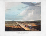 'View of the Railway acros Chat Mos', near Manchester', 1831.