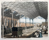 'The Station at Euston Square', London, 1837.