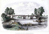 'Richmond Railway Bridge, Surrey', c 1853.