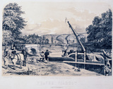 'Weaver Viaduct', Cheshire, London & North Western Railway, 1848.