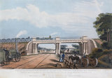 Intersection bridge, Cheshire, 1832.