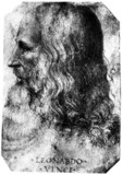 Leonardo da Vinci, Italian artist, engineer and inventor, c 1510.