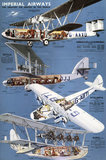 'Imperial Airways - The Greatest Air Service in the World', poster, 1930s.