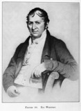 Eli Whitney, American inventor, early 19th century.
