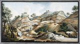 Quarry, Mount Somma, Kingdom of Naples, c 1760.
