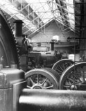 Great Western Railways repair shop at Old Oak Common, London.