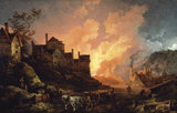 'Coalbrookdale by Night', 1801.