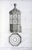 The lantern of Smeaton's Eddystone lighthouse, 1763.