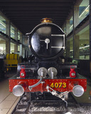 'Caerphilly Castle' 4-6-0 locomotive, Science Museum, London, c 1990s.