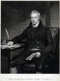 Sir Everard Home, British surgeon, c 1810.