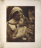 'La Beata' by Julia Margaret Cameron, 1865.