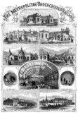 The Metropolitan Underground Railway, 1863.