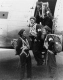 Royal Air Force para-nurses at Upper Heyford, Oxfordshire, 7 October 1948.