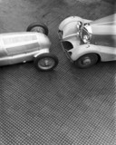 W25 GP coupe racing car and Mercedes-Benz special roadster, 1934.