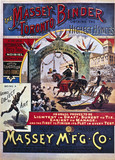 Poster advertising Masey's Toronto Binder, c 1890.