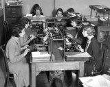 Daily Herald circulation department, 11 May