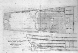 Deck plan of 'The Bounty', c 1780s. In 1787