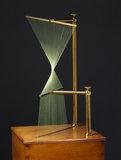 Hyperbolic paraboloid, string surface model, 1872.