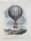 'The Nasau Balloon', Norwich, 24 September 1840.
