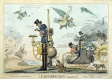 'Locomotion', satire, c 1835.