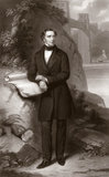 Robert Stephenson, English mechanical and civil engineer, 1849.