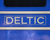 Name plate of the prototype 'Deltic' diesel
