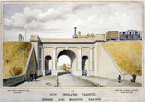 The New England Viaduct, 1857.