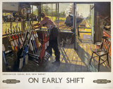 'On Early Shift', BR poster, 1948.