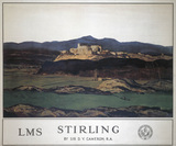 'Stirling', LMS poster, 1923-1947.