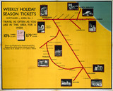 'Weekly Holiday Season Tickets - Scotland', LNER poster, 1923-1947.