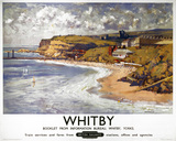 'Whitby', BR poster, 1950.